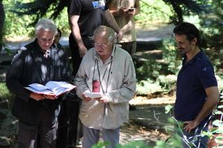 Joshua Sinclair con Vittorio Storaro