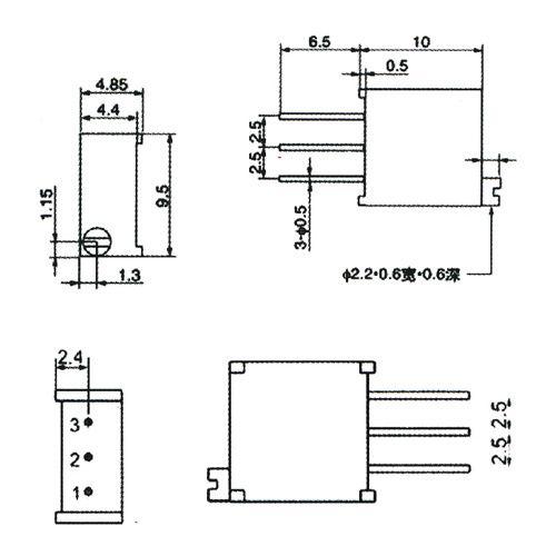 Trim Pot Resistors Diagram : 26 Wiring Diagram Images