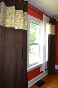 Customizing and lengthening store-bought curtain panels ...