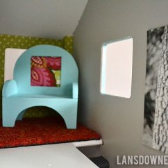 Artwork For Kitchen Walls Compact Kitchens Nz Modern Diy Dollhouse With Homemade Furniture (part 1 Of 6 ...