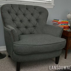 Tafton Club Chair Upper Back Support For Office Tufted Grey Lansdowne Life Share This