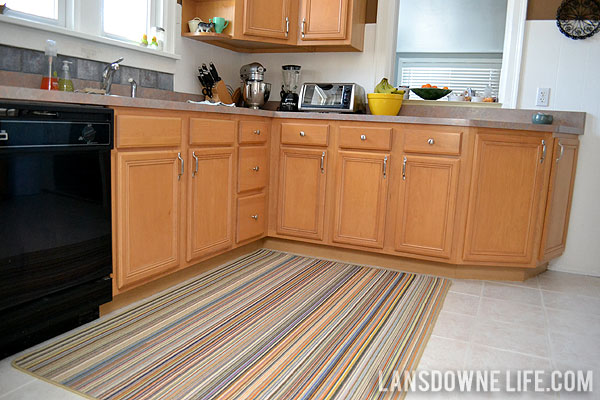 kitchen carpets wood top island big rug in the lansdowne life