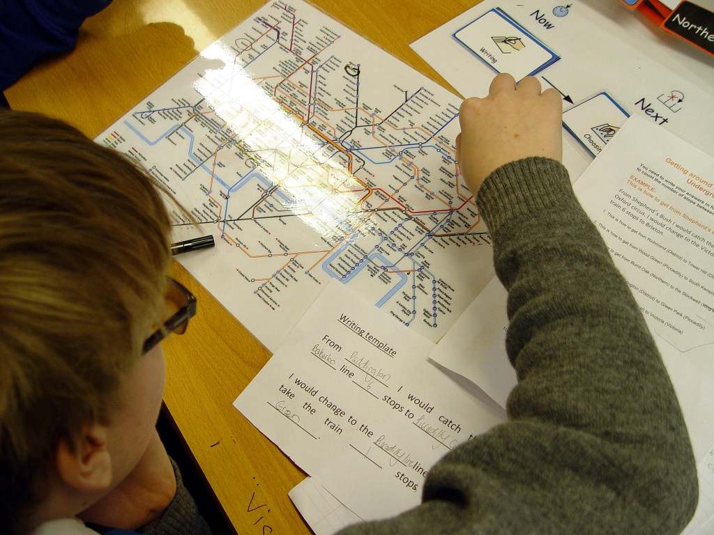 Year 8 Geography Learning On The London Underground Lansdowne School