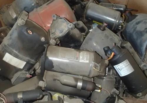 A/C Fridge Compressor Scrap