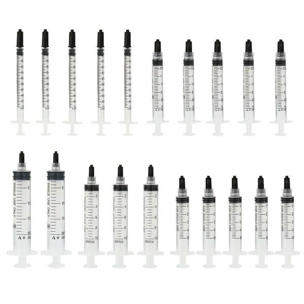 Plastic Sterile Syringes