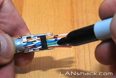 Cat5 Male Connector Wiring How To Make A Category 5 Cat 5e Patch Cable