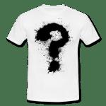 Fragezeichen-T-Shirts