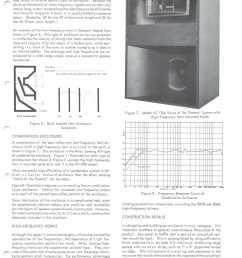 altec 1968 enclosure design guide with plans for a7 valencia and maluibu courtesy paul barello altec lansing technologies  [ 1246 x 1631 Pixel ]