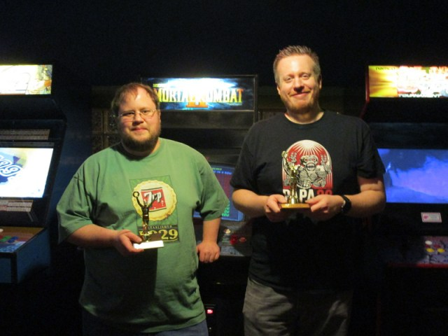 Zen champions of Season 9, Tim and Mike S.