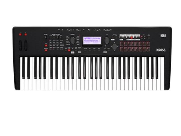 KORG KROSS 2-61 Key Synthesizer Workstation