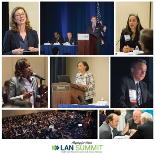 Collage of speakers from the 2016 LAN Fall Summit