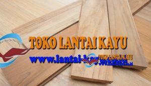 lantai kayu jati ukuran 25cm