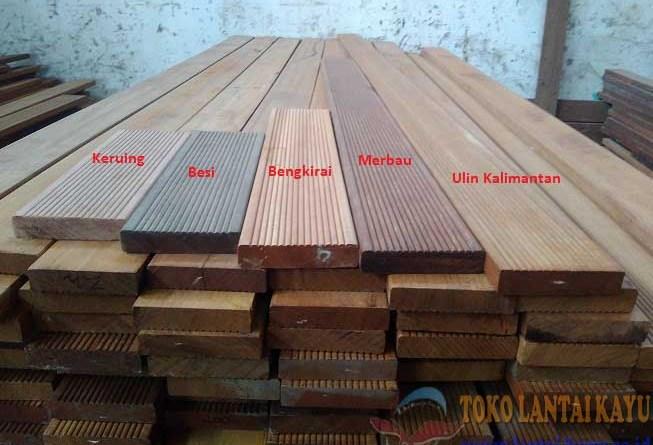 macam-macam decking kayu