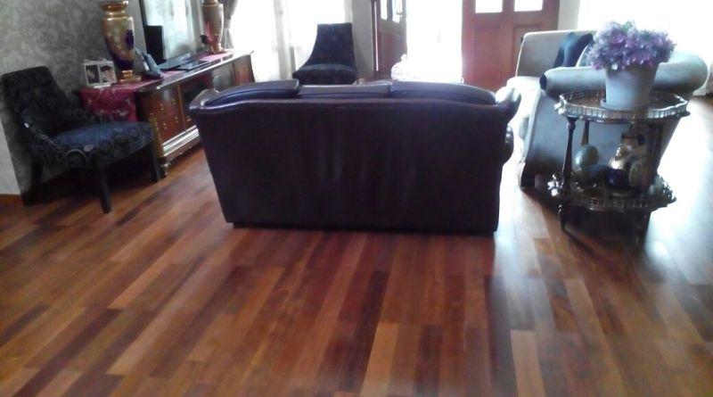 tipe lantai kayu solid flooring