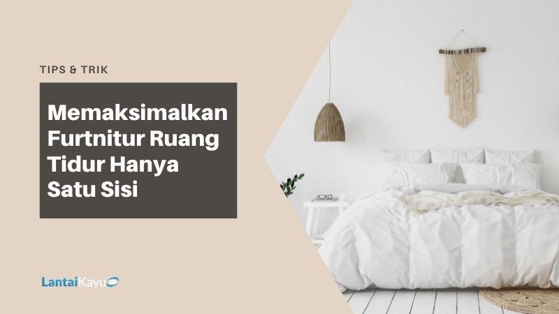 kamar tidur apartemen minimalis