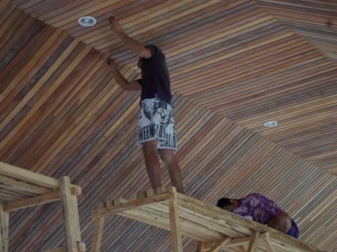 plapon kayu lambersering