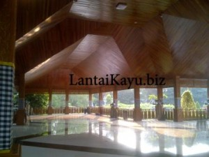 pemasangan plafon kayu di purwakarta