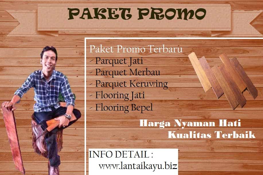Paket Promo Lantai Kayu