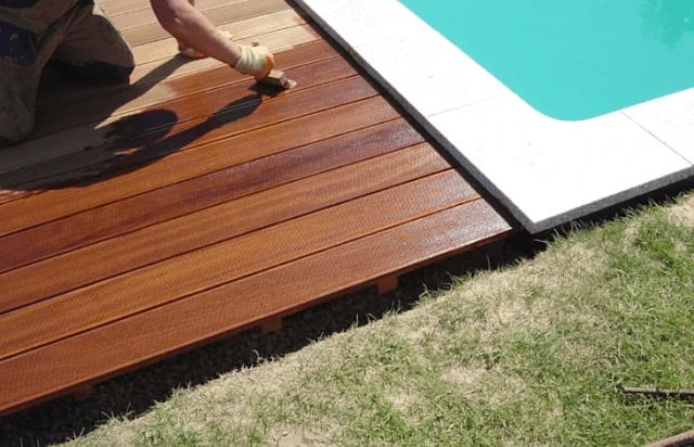 langkah 7 cara memasang decking kayu