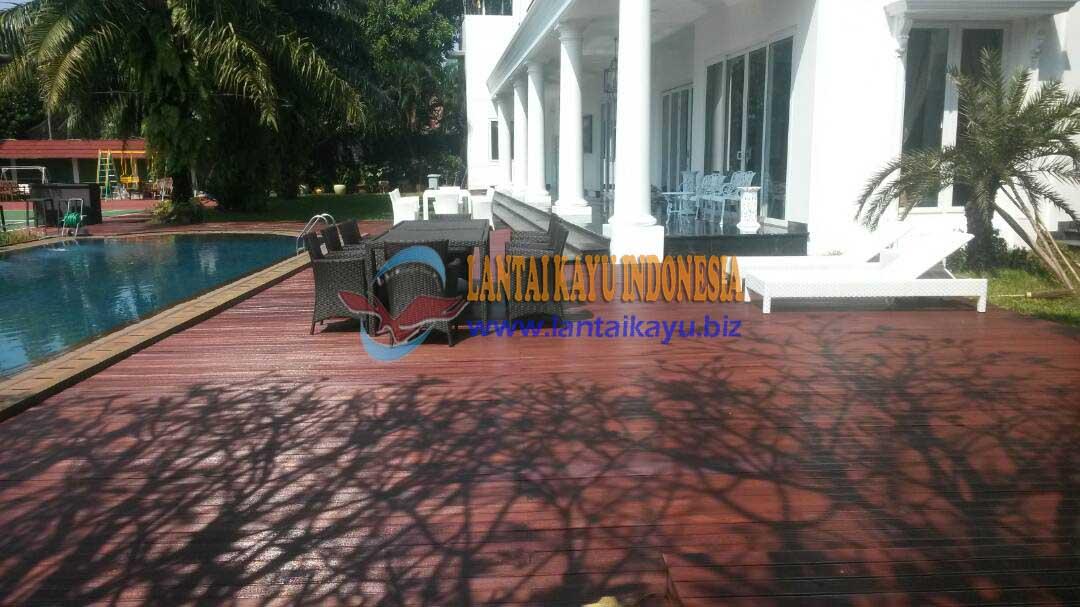 pemasangan lantai kayu bengkirai 2