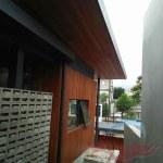 Pemasangan plafon kayu lambersering 13
