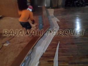 Project lantai kayu merbau