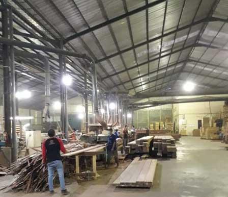 produksi lantai kayu