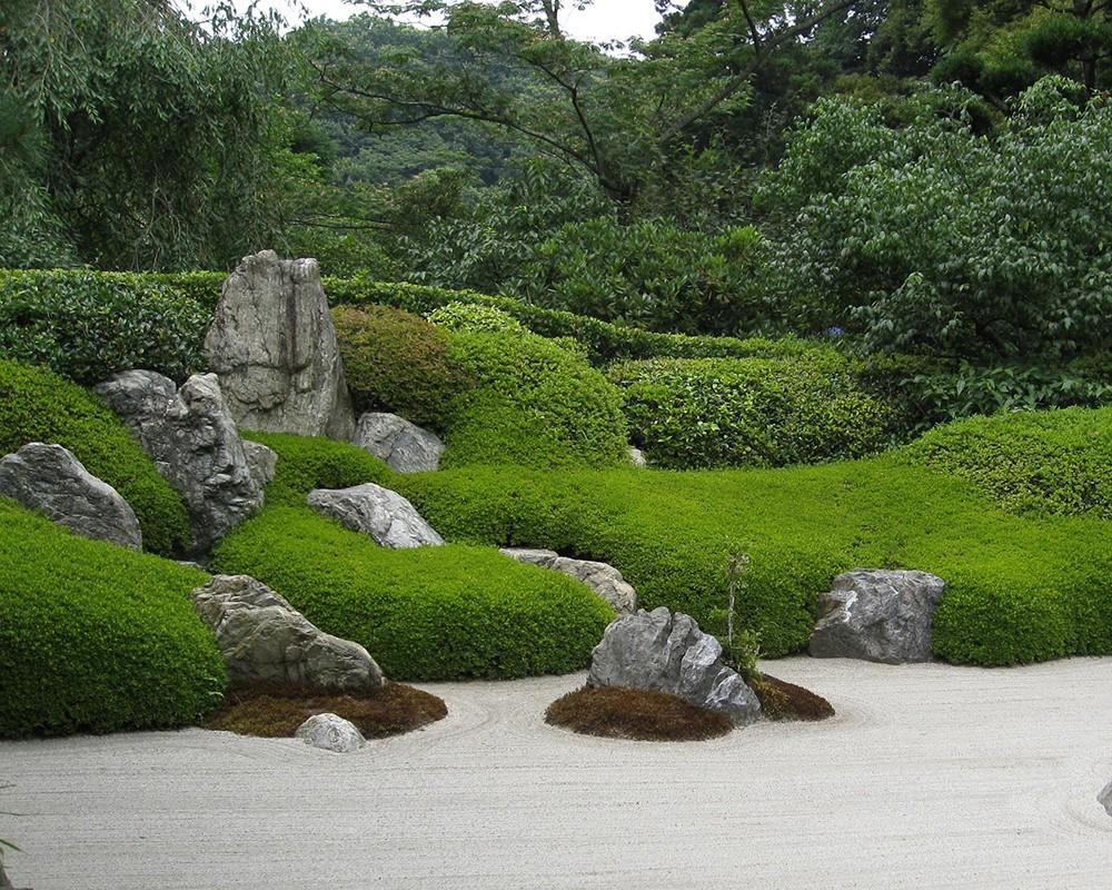 amenagement d un jardin zen lantana