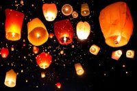 Where to get flying lanterns? teach you diy chinese ...