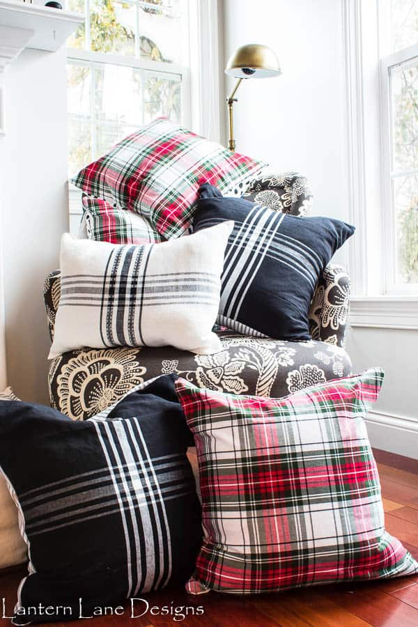no sew pillow covers using napkins