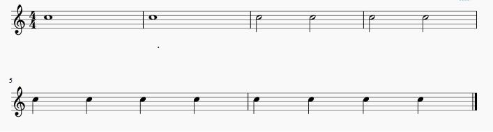 Exercice 1 - Solfege rythmique