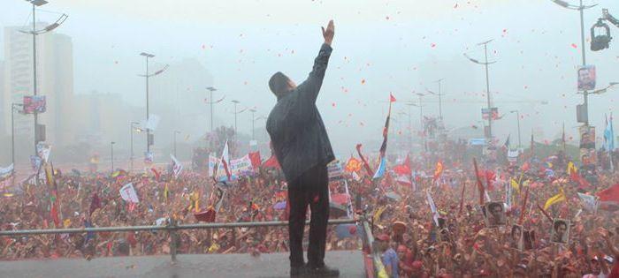 La battaglia è comune. La difesa del Venezuela bolivariano è la difesa anche dei nostri diritti