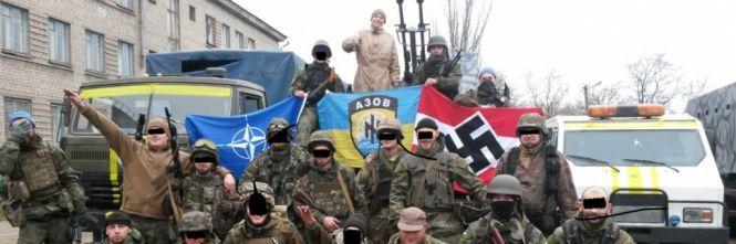 Apologia del neo-nazismo nel Parlamento europeo: il battaglione Azov in bella mostra a Bruxelles