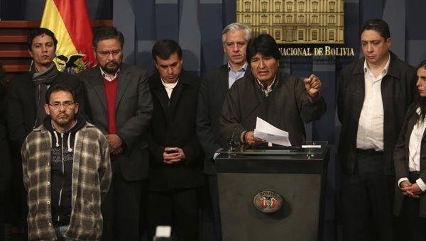 Bolivia: ucciso il viceministro degli Interni. La denuncia e il dolore di Evo Morales