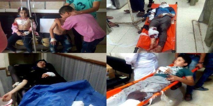 FOTO e VIDEO. Siria, i ribelli uccidono 5 bambini a Daraa e provocano 30 feriti nel centro di Damasco