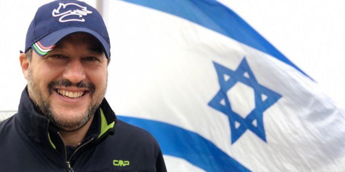 I deliri di Salvini in Israele