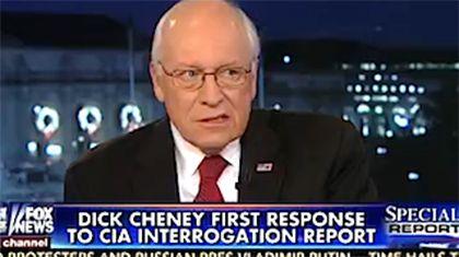 Questa relazione è piena di merda. Dick Cheney difende le torture della Cia
