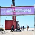 Dos negocios con las bajadas públicas a la playa: Publicidad a las peatonales y cobro de permiso a las 4×4