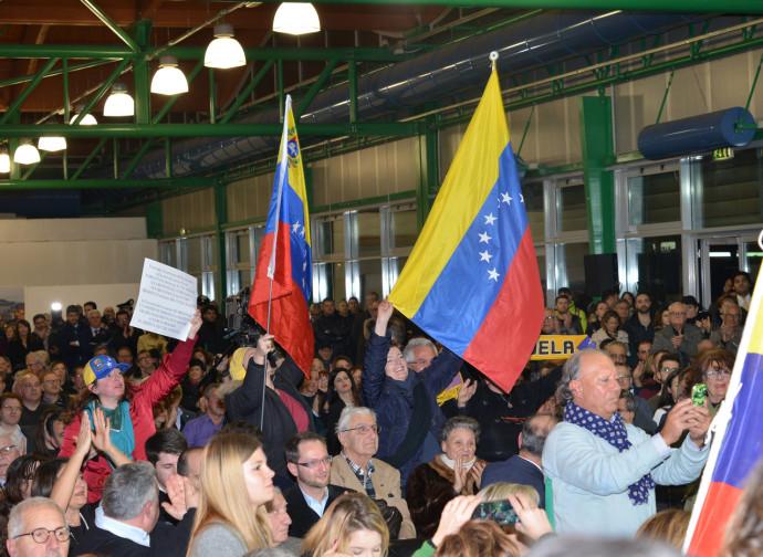 La protesta per il Venezuela, a Pescara
