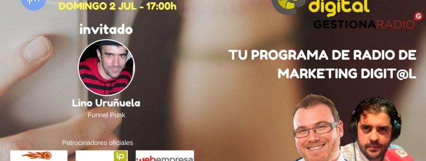 Programa 37 con Lino Uruñuela