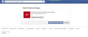 Como integrar Pinterest en Facebook 2