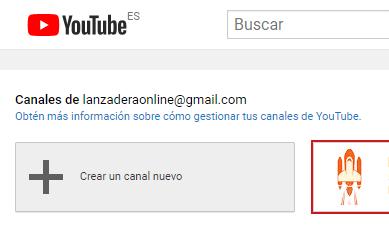5 crear un canal nuevo en youtube