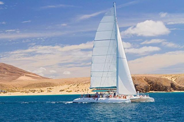 Luxury Catamaran Sailing