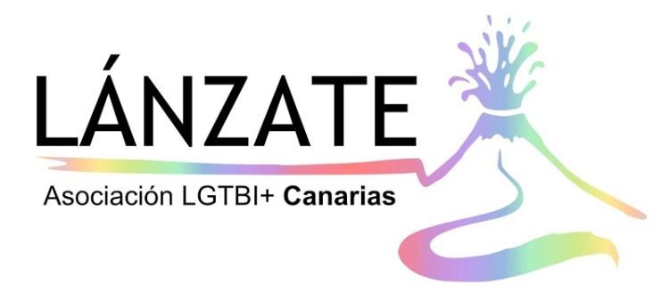 logo de associacion lanzatoe lgbt+ canarias