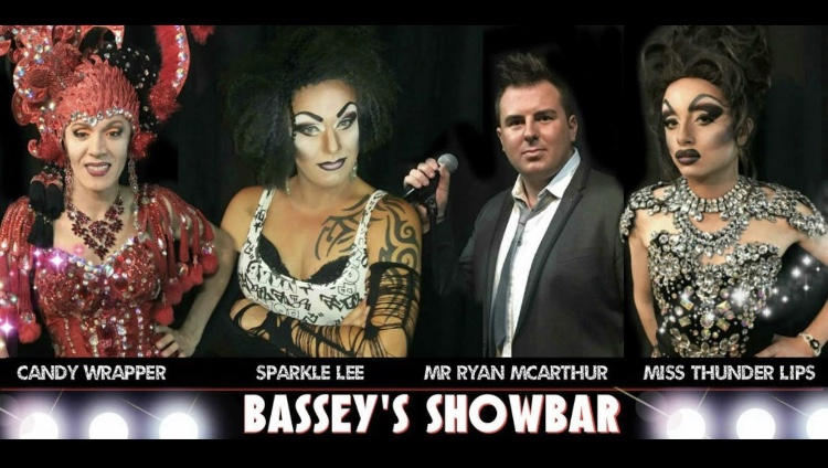 Candy Wrapper, Sparkle Lee, Mr Ryan McArthur and Miss Thunder Lips, Bassey's Showbar, Puerto del Carmen, Lanzarote