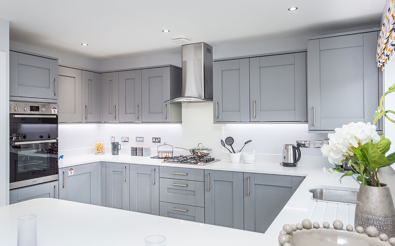 Nice  Lanzet Interiors  Contract KItchens for the Trade  Blackburn