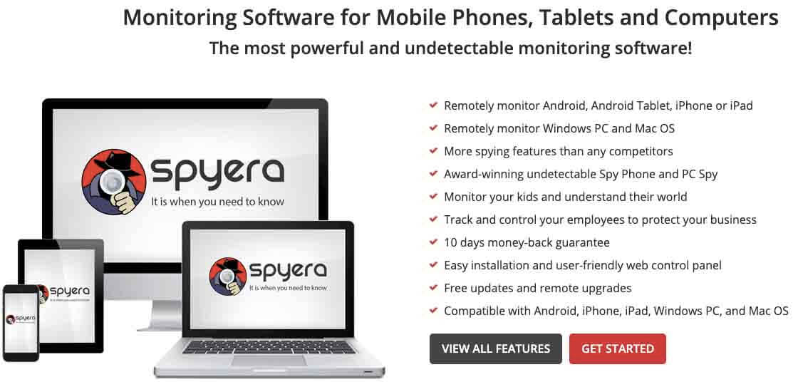Spyera Monitoring Software