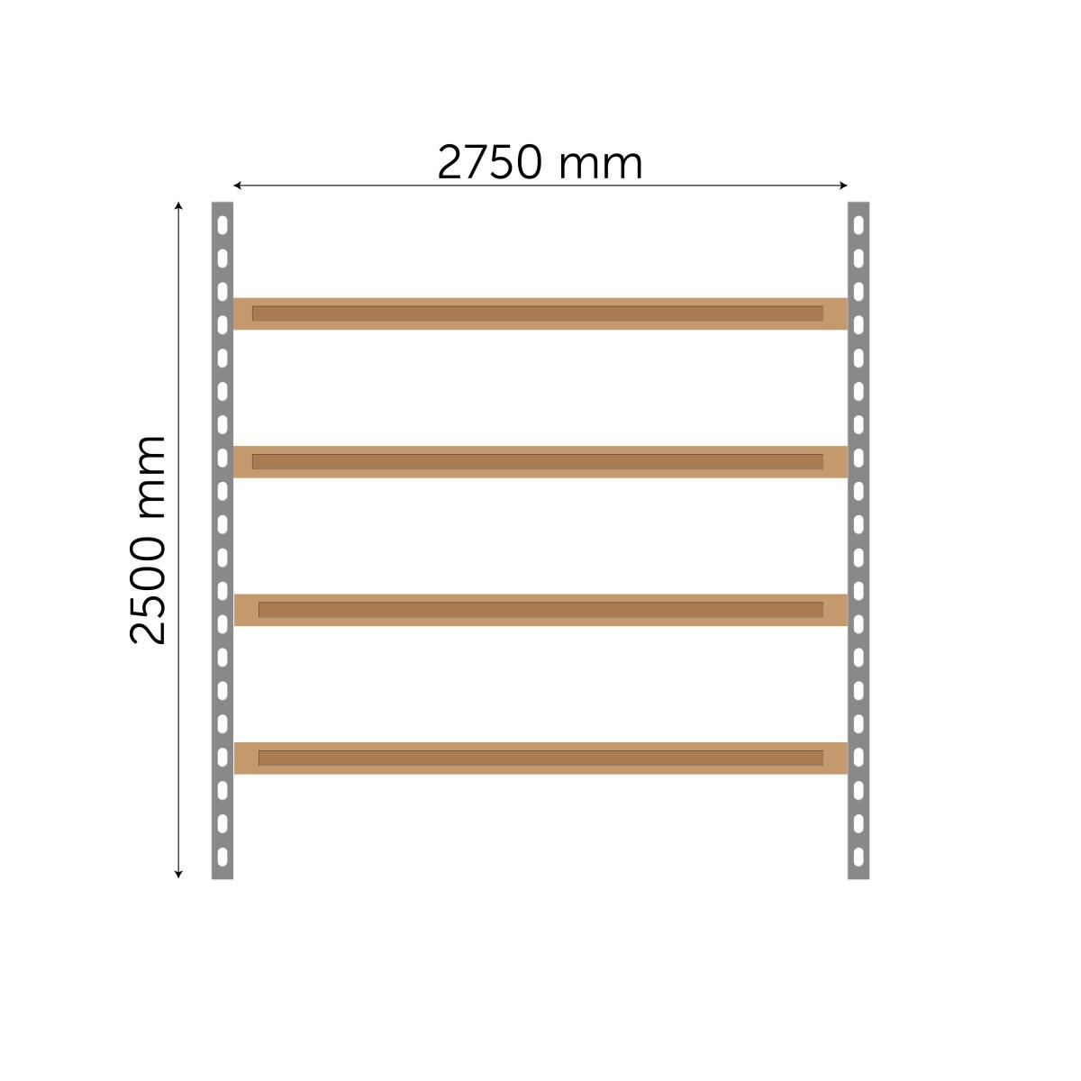 Meediumriiuli põhiosa 2500x2750mm
