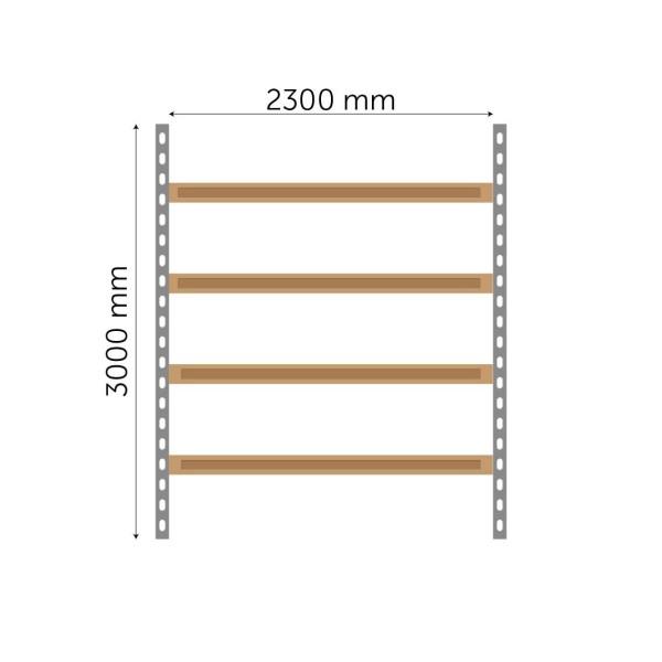 Meediumriiuli põhiosa 3000x2300mm