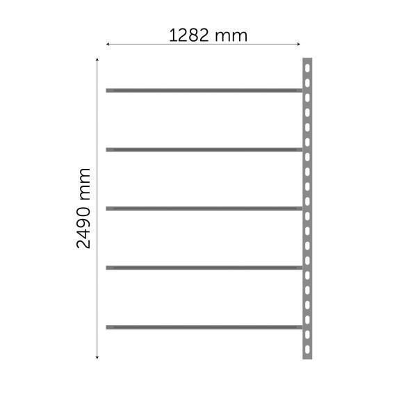 Moodulriiuli jätkuosa 2490x1282mm